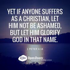 REDE MISSIONÁRIA: 1 PETER 4:16
