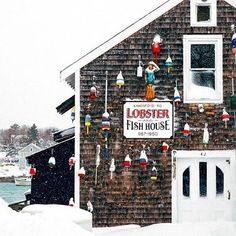 New England Photography 📷 ( Kennebunk Maine, Lobster Fishing, Kennebunkport Maine, Snow Photography, Raw Bars, Fish House, The Great Escape, Winter Beauty, Christmas Past