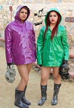 Vinyl Raincoat, Pvc Raincoat, Plastic Raincoat, Girl In Rain, Rubber Raincoats, Pvc Coat, Sexy Boots, Rain Wear, Rain Jacket