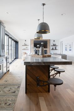 Tour a modern European dream home on the shores of Halstead's Bay Custom Home Builders, Custom Homes, European House, Cozy Fireplace, Parade Of Homes, Guest Suite, Interior Design Studio, Great Rooms, Game Room