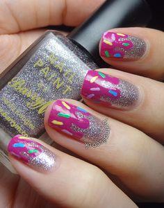 Brit Nails: Ice Cream Drips