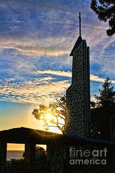 Wayfarers Chapel, Rancho Palos Verde, CA Wayfarers Chapel, 45 Years, Empire State Building, Fine Art Prints, Wedding Planning, Dream Wedding, Tower, Graphic Design, Photograph
