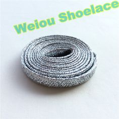 Weiou flat dress ⊹ shoelaces colored boot laces metallic gold shoelaces ᐃ white trainer laces cool shoe lacing 120cm/47'' (0_*) Weiou flat dress shoelaces colored boot laces metallic gold shoelaces white trainer laces cool shoe lacing 120cm/47'' (0_^)