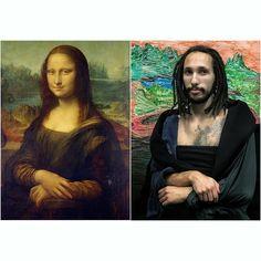 Las Alucinantes (Y Divertidas) Recreaciones De Pinturas Famosas De Chris Y Francesco. #viral #viraldiario