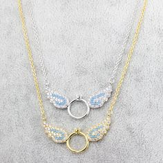 Wholesale Blue Zircon Rose Gold Choker 2017 Steampunk Jewelry Vintage Collier CZ Angel Wings Charm Necklace Pendant With Circle Rose Gold Choker, Angel Wing Necklace, Blue Zircon, Necklace Designs, Vintage Jewelry, Chokers, Angel Wings, Fashion Jewelry, Pendants