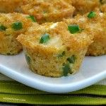 Jalapeno Popper Quinoa Bites - Ok minus the onion, use hot red pepper instead, sub Daiya cheddar and daiya cream cheese and add scallions. Worth a try! Yummy side or snack!