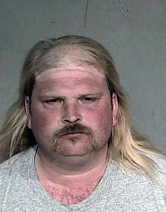Ugly ass man