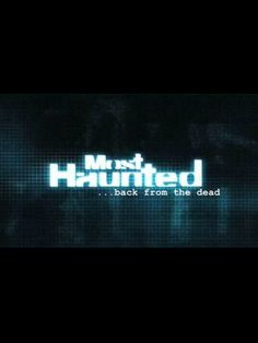 Most Haunted is back from the dead October Most Haunted, Ghost Hunting, October 2013, Tv, Movies, Films, Television Set, Cinema, Movie