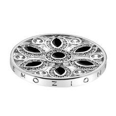 www.hotdiamonds.co.uk or www.emozioni.com 33mm Caleidoscopio Girasole Black coin £69.95