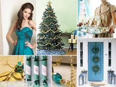Looking for your wedding color palette? The Perfect Palette wants to help! The Perfect Palette is dedicated to helping you see the many ways you can use color to bring your wedding to life. Wedding Color Schemes, Wedding Colors, Color Inspiration, Wedding Inspiration, Inspiration Boards, Christmas Wedding, Christmas Tree, Teal Christmas, Christmas Stuff