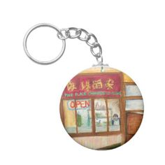 Chinese Cuisine Keychain (Pike Place Seattle)