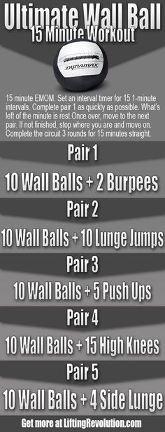 Lose Fat Fast - Running to Lose Weight - Wall Ball 15 Minute Workout And Tips via Tay - Learn how to lose weight running - Do this simple 2 -minute ritual to lose 1 pound of belly fat every 72 hours Crossfit At Home, Crossfit Humor, Easy Workouts, At Home Workouts, Workout Routines, Cross Fit Workouts, Workout Tips, Logi Methode, Emom Workout