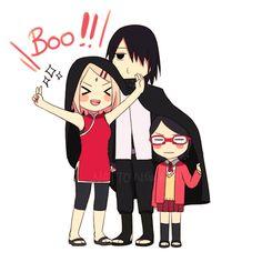 Sasuke y familia