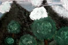 "Saatchi Art Artist ConnieAnn LaPointe; Painting, ""Ghost Trees"" #art"