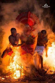 ulsavam (Traditional festival.) At in kannur -Kerala- India.