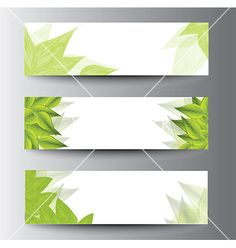 Leaf+banners+vector+1356636+-+by+joinanita on VectorStock®