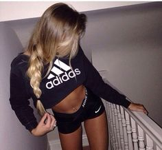 blouse jumper jumpers adidas sweatshirt adidas wings adidas jacket adidas sweater adidas adidas sweats adidas shirt black t-shirt black crop top black top black sweater black and white shorts style sportswear fitness fitness tank fitness gym gym sports nike shorts nike pro shorts nike pro