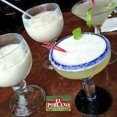 Deliciosas margaritas te esperan! #ElPoblano #MexicanRestaurant #margaritas #coctel