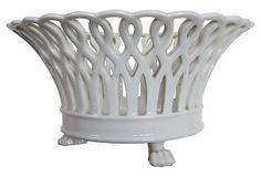 Reticulated Porcelain Vase on OneKingsLane.com $115