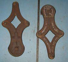 vintage industrial machine age decor used metal barn door rollers parts u0026 repair