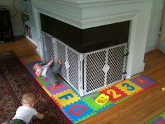 Baby Proof Fireplace Gate All Things Baby Pinterest Baby