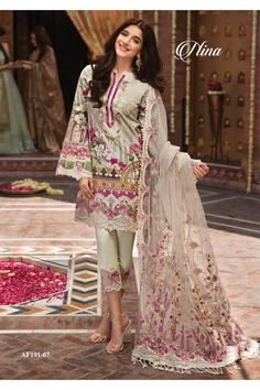 d3c6be2fdd Pakistani Suits Aarzoo Festive Collection Anaya By Kiran Chauhdry AF191-07  #Aarzoo #LuxuryRedefined