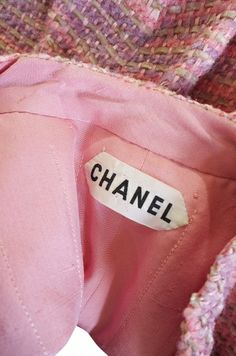 Circa 1966 Chanel Haute Couture Suit   From a collection of rare vintage suits, outfits and ensembles at http://www.1stdibs.com/fashion/clothing/suits-outfits-ensembles/