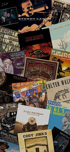 Red Dirt Country Custom Album Wallpaper!