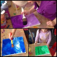 The kids have been exploring color for the past couple of weeks. It started out with a color mixing provocation set out at the beginning of . Kindergarten Inquiry, Full Day Kindergarten, Inquiry Based Learning, Color Wheel Art, Emergent Curriculum, English Projects, Classroom Setup, Learning Colors, Stem Activities