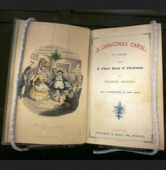 Charles Dickens' A Christmas Carol with illustrations by John Leech*  London-