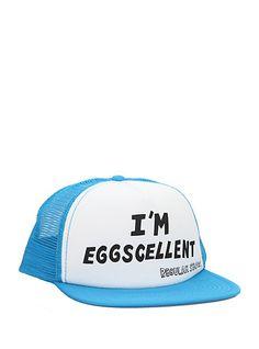 Regular Show Eggscellent Snapback Trucker Hat | Hot Topic