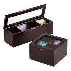 4-Section Tea Boxes