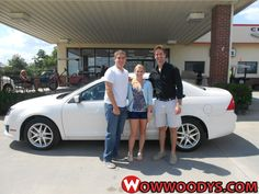 "Wayne Sisk from Columbia, Missouri purchased this 2012 Ford Fusion and wrote, ""First time buying from a dealership and the experience exceeded expectations. Cory was very friendly and took not of all of our concerns! We will definitely be coming back for our next car purchase!"" To view similar vehicles and more, go to www.wowwoodys.com today!"