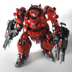 "Project HG Gusion Jipake by Asrul Hazimin From the modeler (Adapted from his album). ""This project is more of my first experimentation with subtle Powered Exoskeleton, Mecha Suit, Armadura Medieval, Gundam Custom Build, Gundam Seed, Lego Mecha, Robot Concept Art, Gunpla Custom, Custom Action Figures"