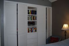 French Bros. doesn't only make custom #shutters but #closet doors too! http://sandiego-shutters.com/