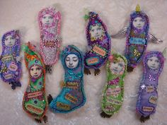 Lavender filled dolls