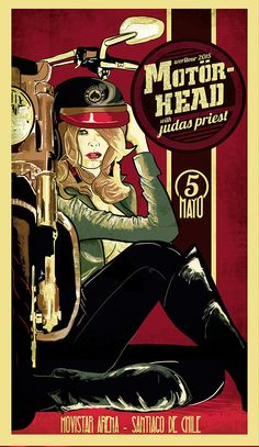 Double Gig Poster for Judas Priest and Motorhead - Jofre Conjota on Behance Judas Priest, Hard Rock, Tour Posters, Band Posters, Event Posters, Vintage Concert Posters, Vintage Posters, Retro Posters, Rock Roll