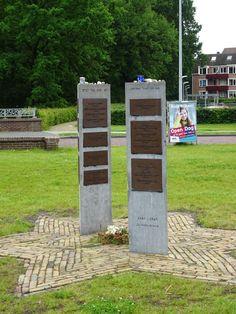 Joods monument aan de Vendelweg in de Olde Veste Steenwijk