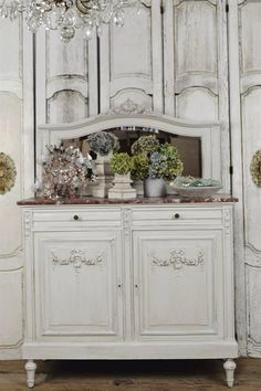 ANTIQUE FRENCH SERVER