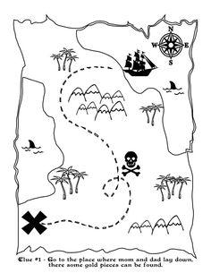 Free Pirate Treasure Nature Scavenger Hunt Printable