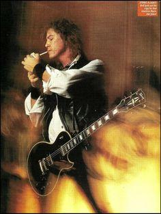 Duff McKaggan Guns N Roses Guitar pick plectrum signature printed cord necklace