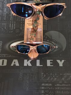 3dc34f461c3 Some of my favorite Oakley X-Metal Sunglasses with Copper Finished  including some DIY Custom Pairs!