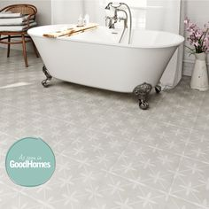 Click here to find out more about Laura Ashley Heritage wicker dove grey matt tile 331mm x 331mm Cheap Bathroom Flooring, Cheap Bathrooms, Master Bathrooms, Kitchen Flooring, Karim Rashid, Family Bathroom, Small Bathroom, Bathroom Ideas, Bathroom Designs