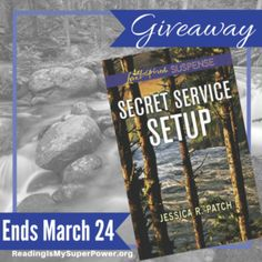 Author Interview (and a Giveaway!): Jessica R. Patch & Secret Service Setup - Reading Is My SuperPower