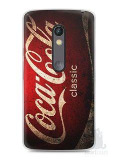 Capa Capinha Moto X Play Coca-Cola Classic - SmartCases - Acessórios para celulares e tablets :)