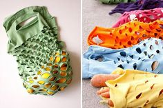 50 Ways to Repurpose an Old T-Shirt via Brit + Co.