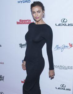 L'ex de Cristiano Ronaldo, Irina Shayk n'a pas de décolleté