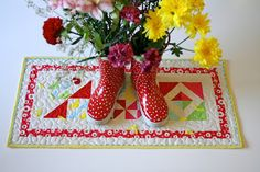 lovely little handmades: farmers wife for the home~ tutorial and giveaway!