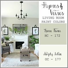 Hymns and Verses Living Room Paint Colors