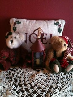 Several of my special bears. Its the little girl in all of us.  the sweet lantern is from Back Home Primitives